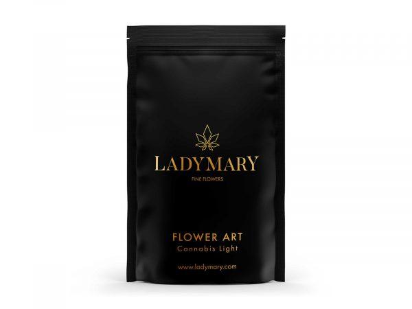 flower art cannabis light front